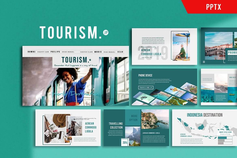 Tourism Presentation - Powerpoint Template (1)