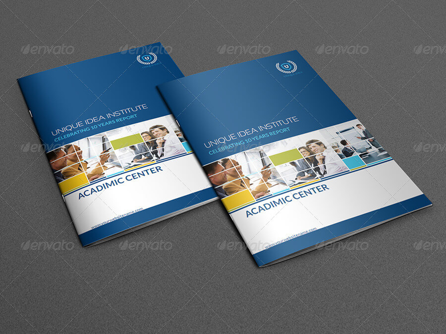 Training Company Brochure Template - 28 Pages