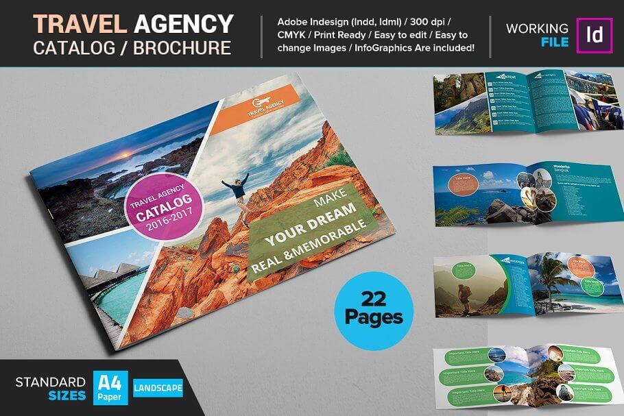 Travel Agency Catalog / Brochure