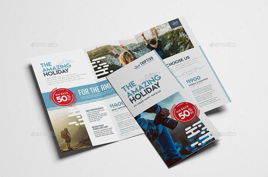 Travel Company Tri-Fold Brochure Template (1)