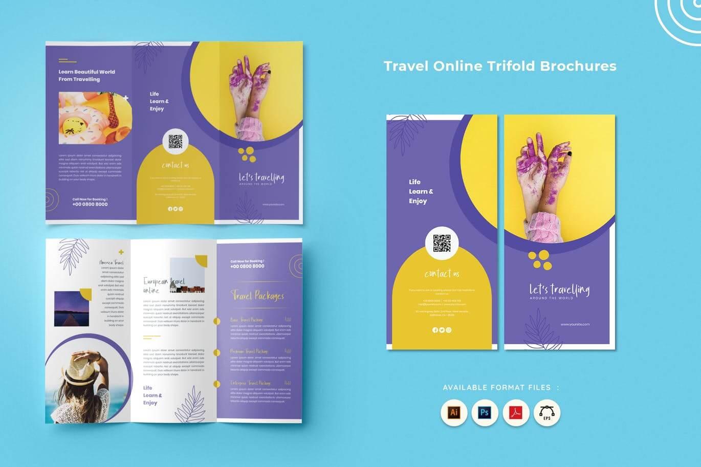 Travel Online Tri-Fold Brochure (1)