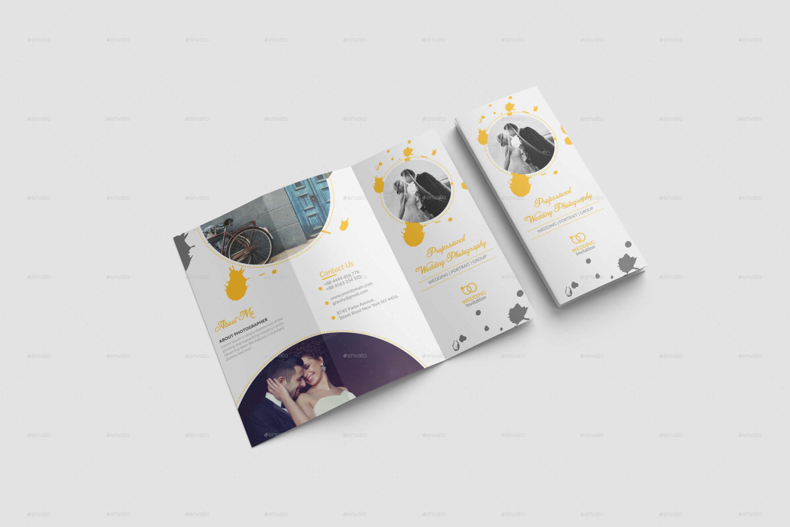 Wedding Brochure Template (1)