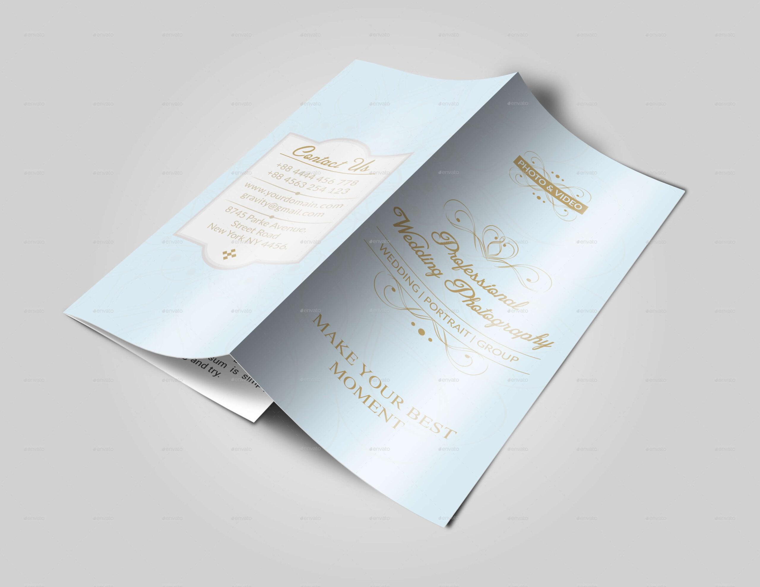 Wedding Brochure Template (4)
