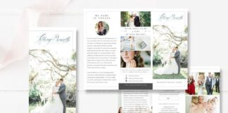 Wedding Photographer Brochure PSD (1)