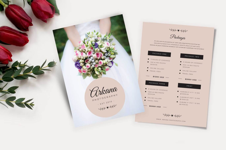 Wedding Price List Flyer (1)