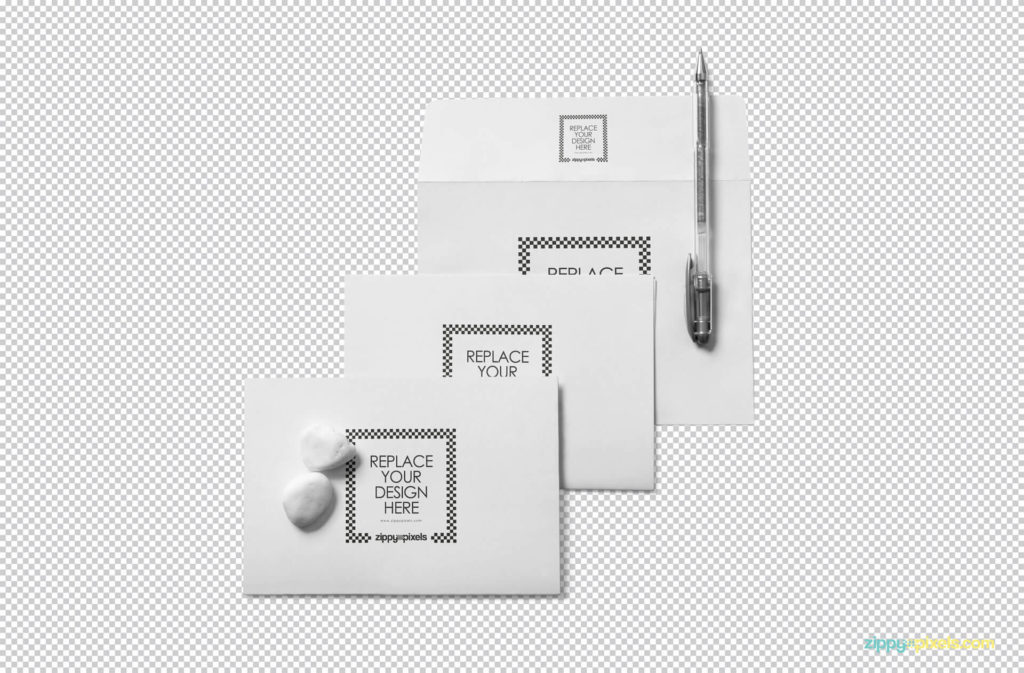 Free Wedding Invitation Pack Mockup