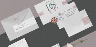 Wedding-sttaionery-mockup Set