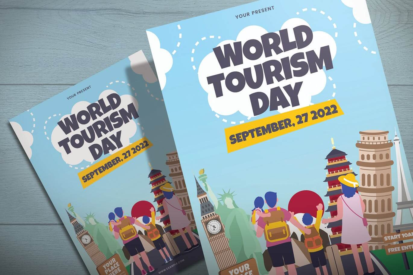 World Tourism Day - Flyer Template (1)