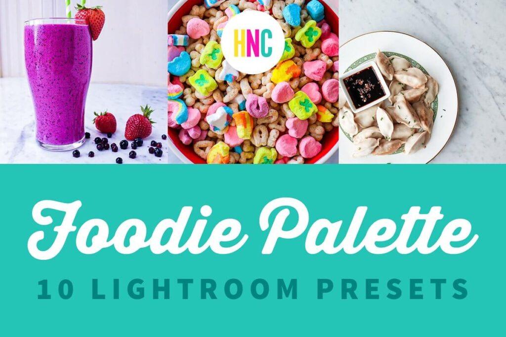 10 FoodPhotography Lightroom Pre...