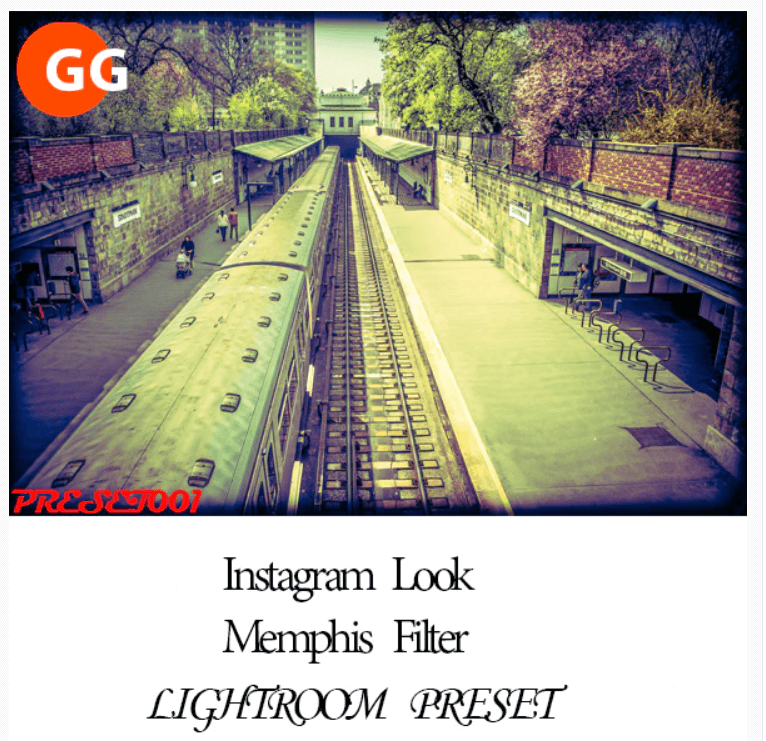 10 Instagram Memphis Filter Lightroom Preset