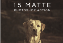 15 Matte Effects Photoshop Actions
