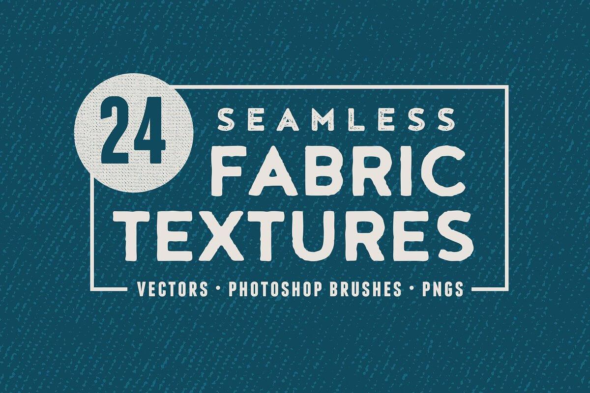 24 Seamless Fabric Textures (1)