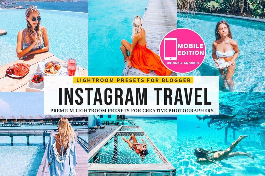 30 Instagram Blogger Travel Presets