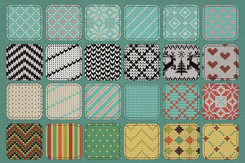 30 Seamless Knit Textures (1)