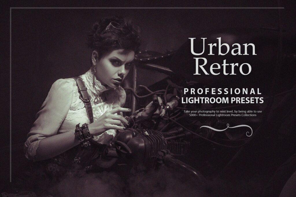50 Urban Retro Lightroom Presets
