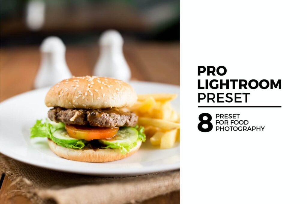 8 Pro Lightroom Preset for Food Photography