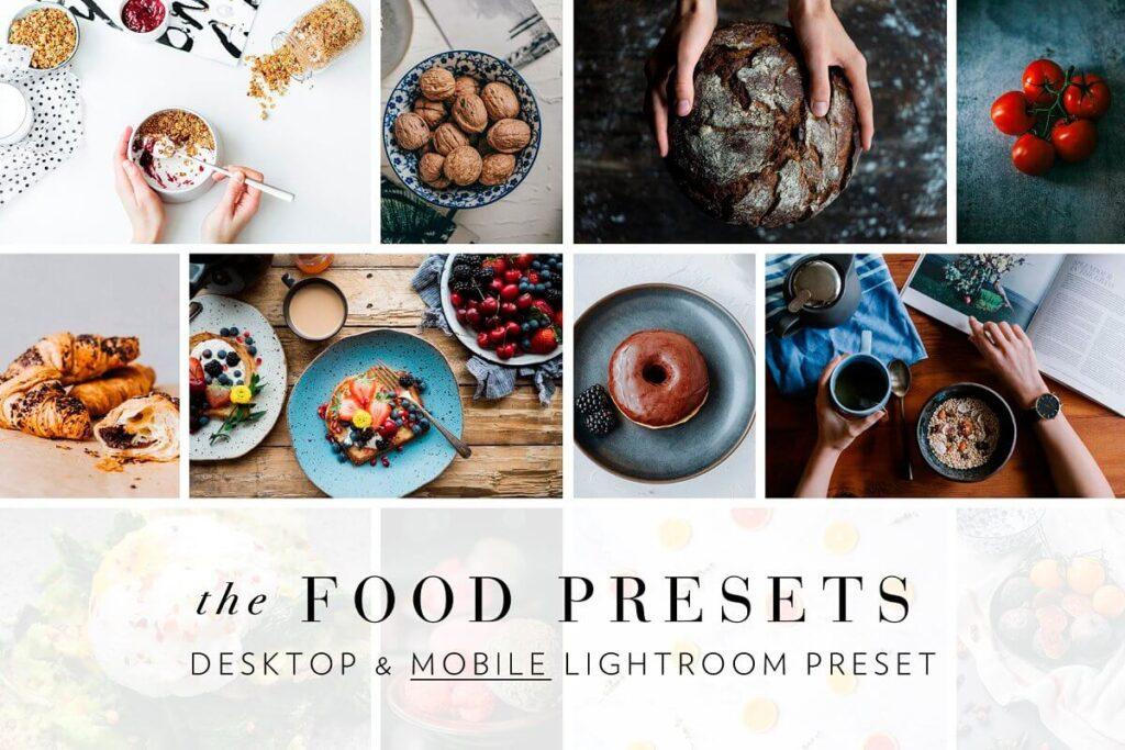 85 Food Photography Lightroom Pr...