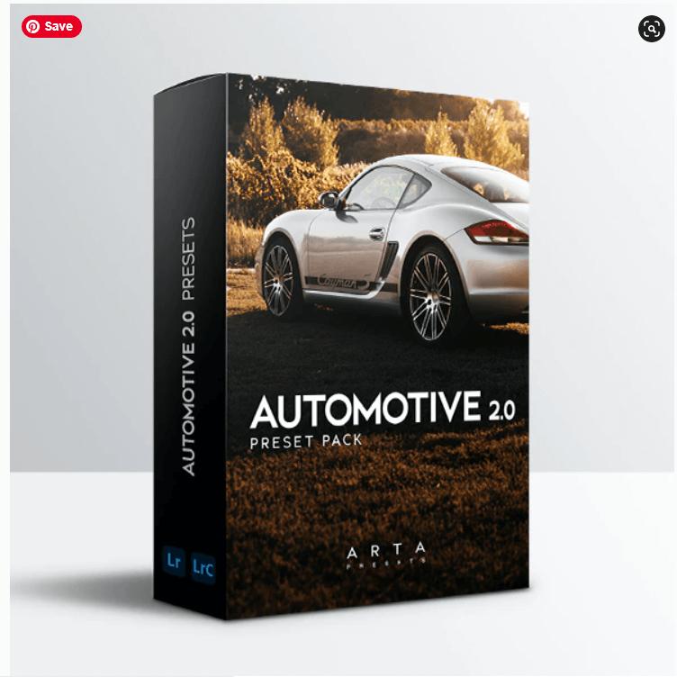 ARTA Automotive 2.0 For Mobile and Desktop Lightroom