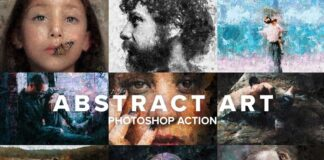 Abstract Art Photoshop Action (1)