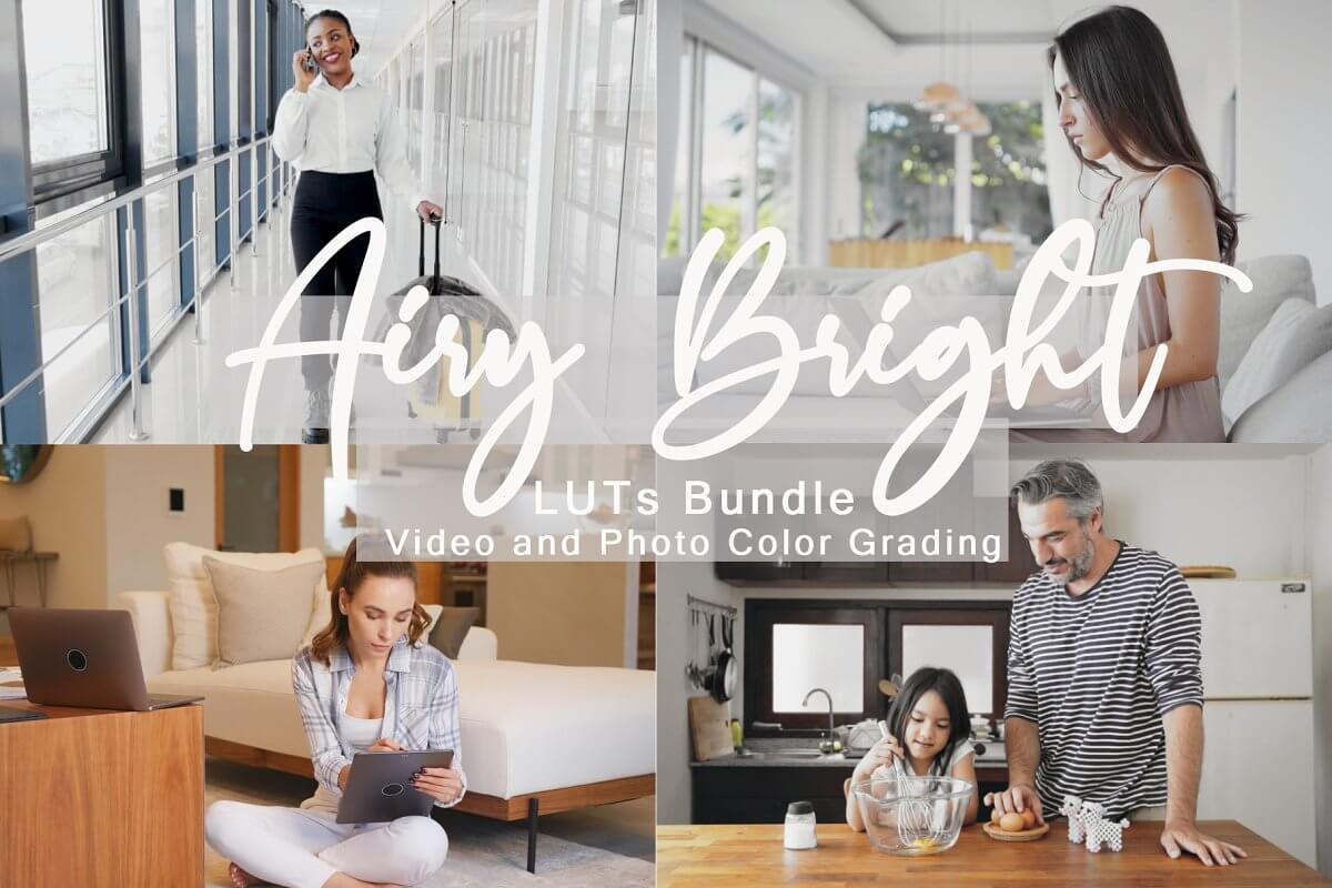 Airy Bright LUTs Bundle