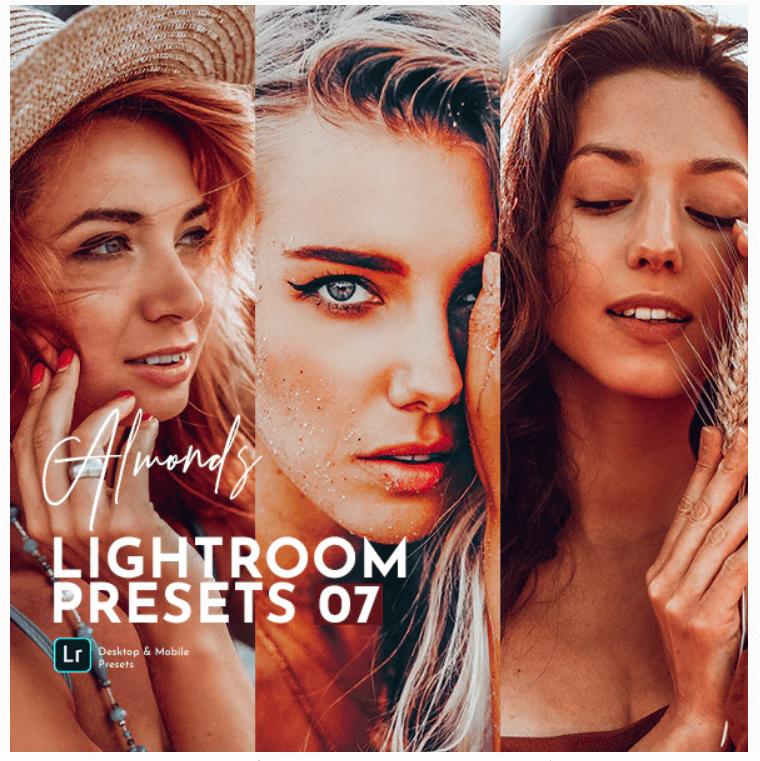 Almonds Lightroom Presets Pack
