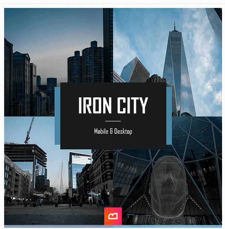 Architecture Collection - Iron City Lightroom Preset (Mobile & Desktop)
