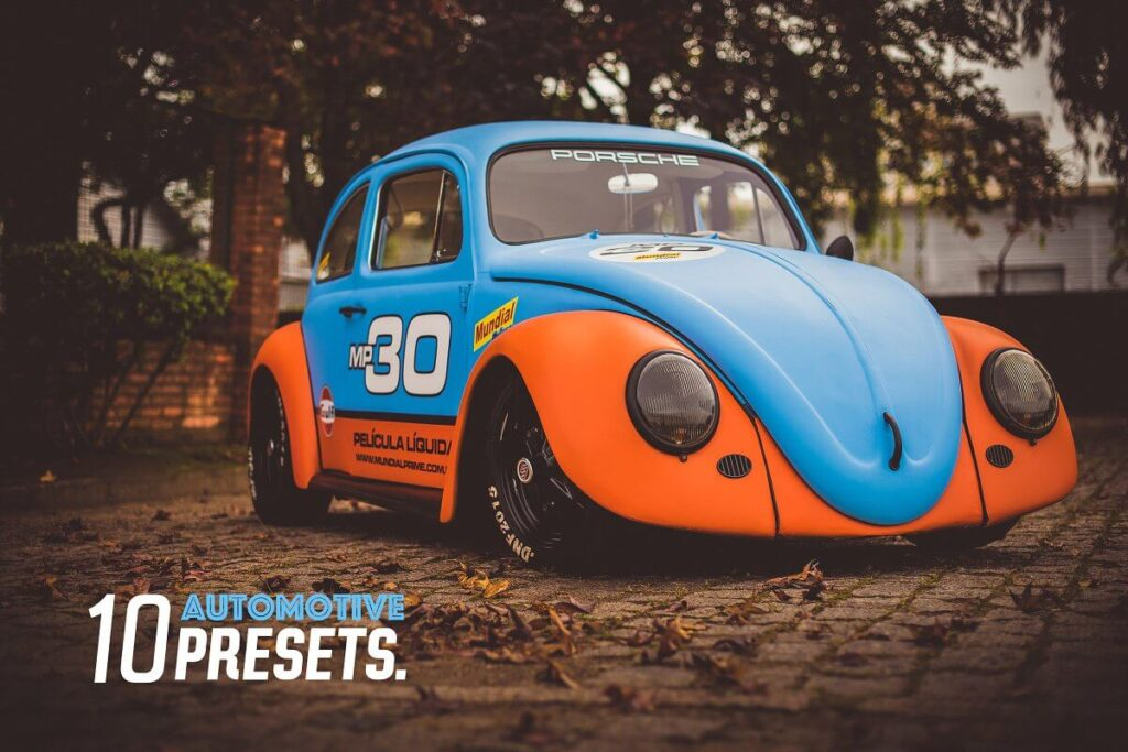 Automotive Lightroom Presets Vol.1