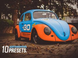Lightroom Presets for Car