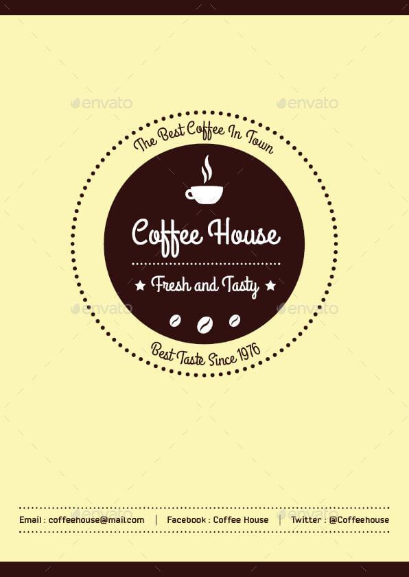 BiFold Coffee Menu Template (1)