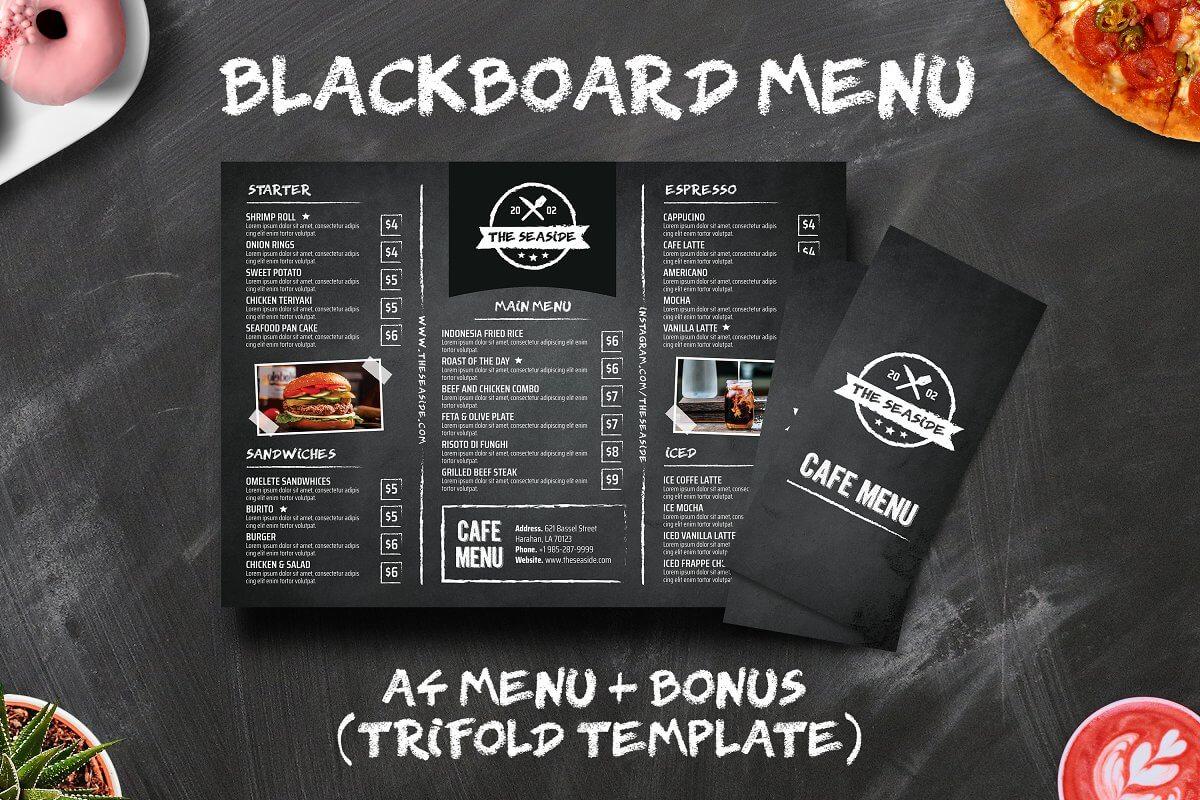 Blackboard Menu + TriFold Menu (1)
