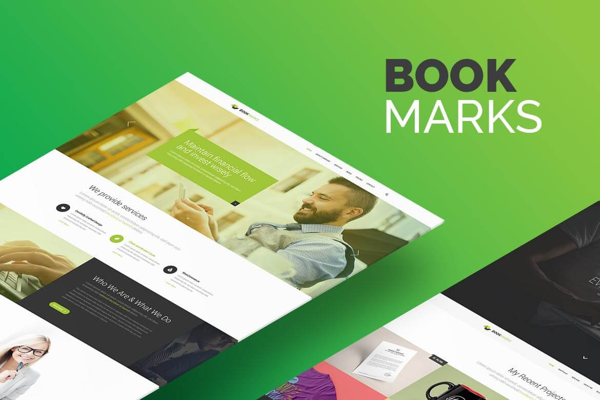 BookMarks PSD Template (1)