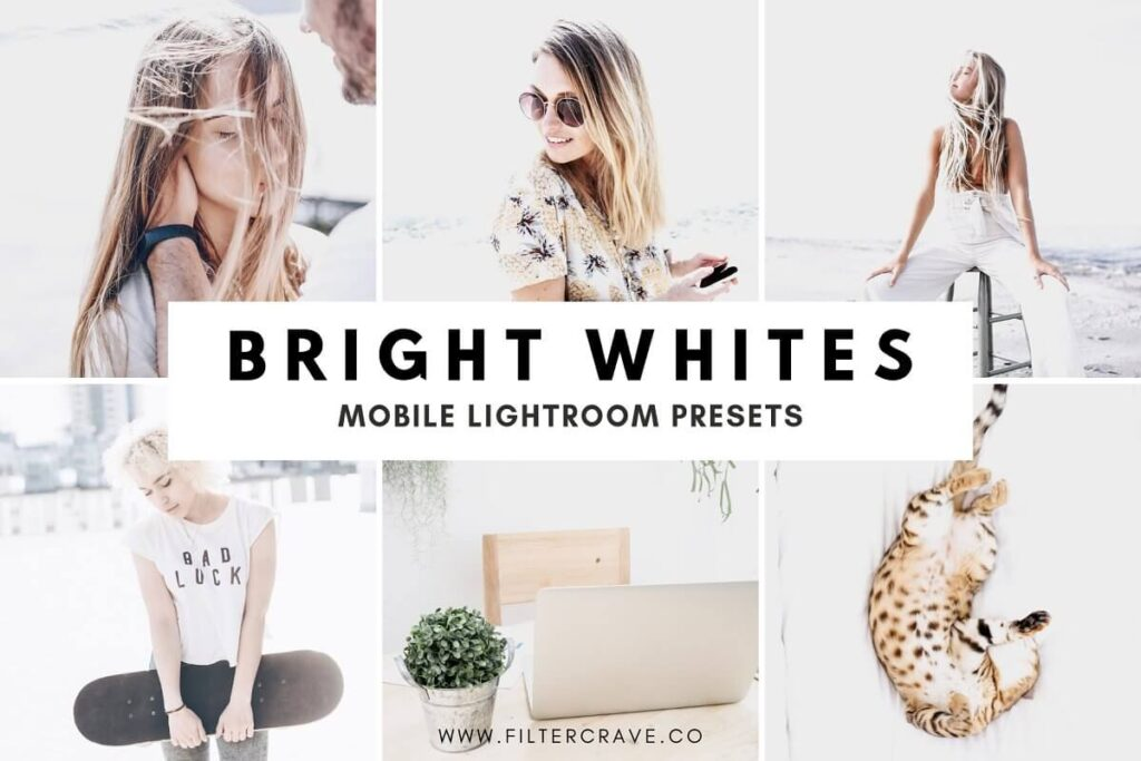 Bright White Lightroom Preset Mo...