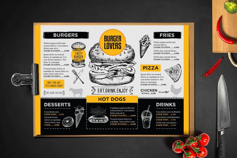 Burger Menu Template (1)