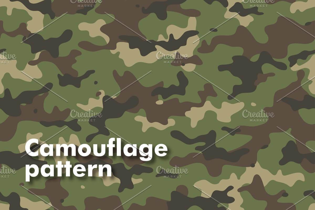 Camouflage Seamless Patterns (1)