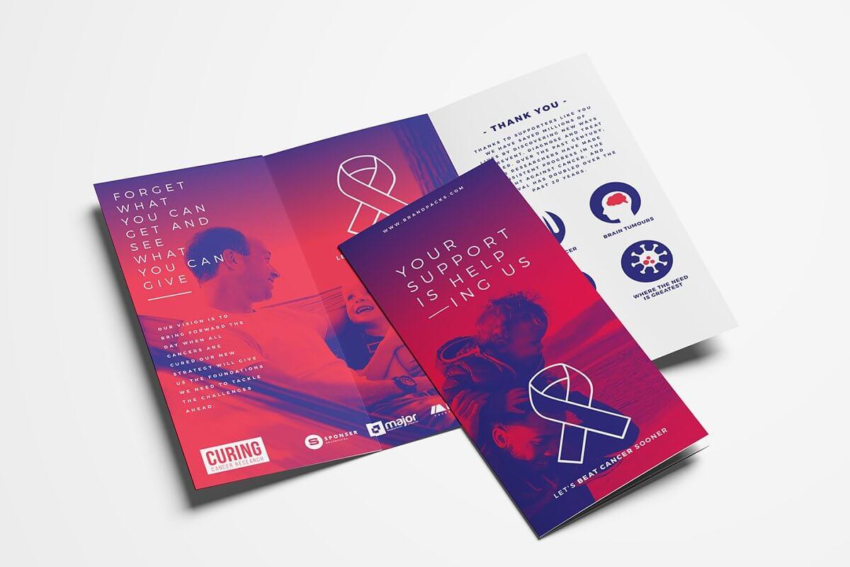 Cancer Charity Tri-Fold Brochure (1)