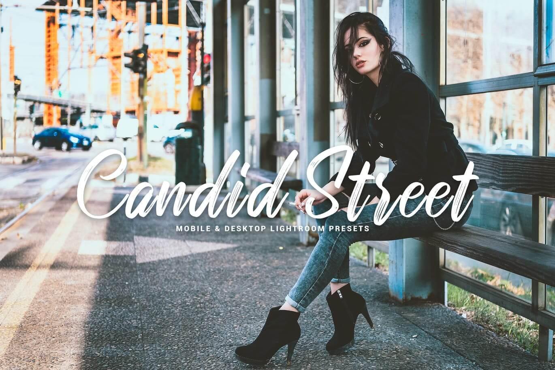 Candid Street Mobile & Desktop Lightroom Presets
