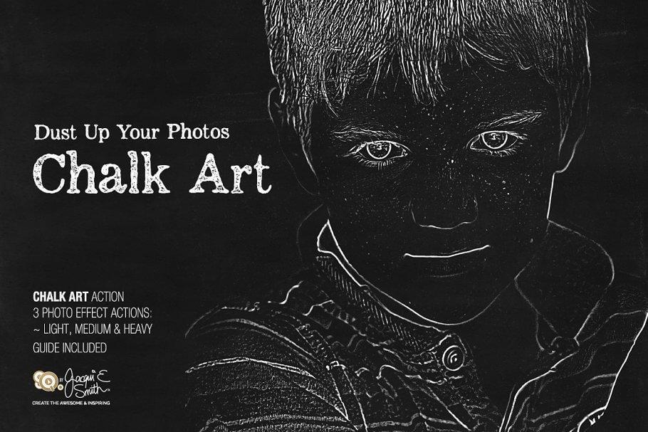Chalk Art Actions