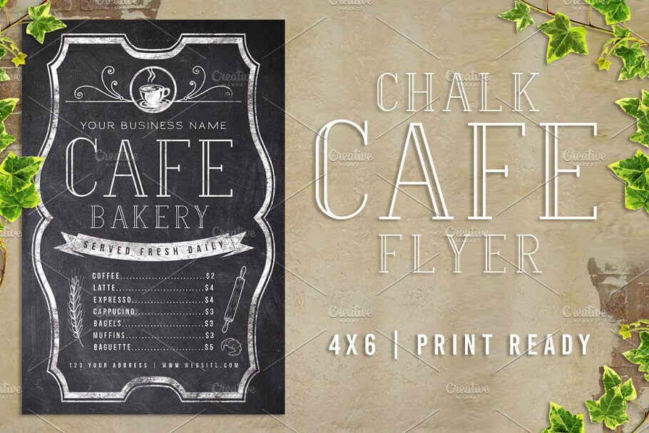 Chalk Cafe Flyer Menu (1)