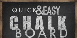 Chalkboard Photoshop Effect