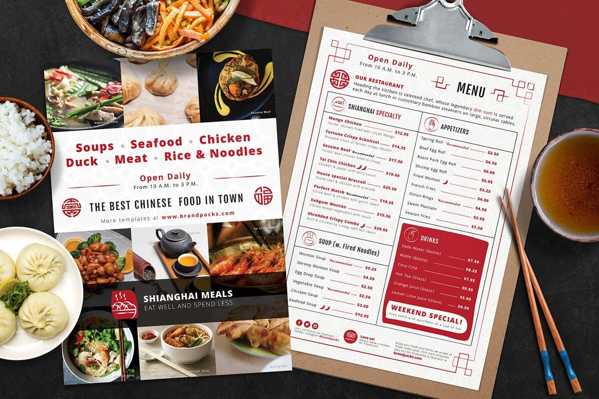 Chinese Restaurant Menu (1)