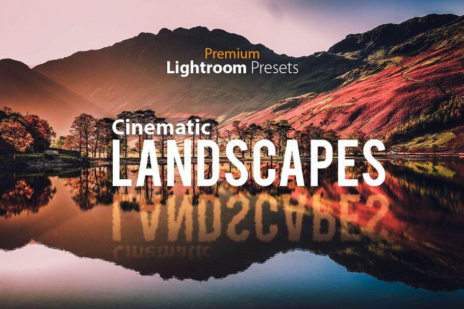 Cinematic Landscape Lightroom Pr...