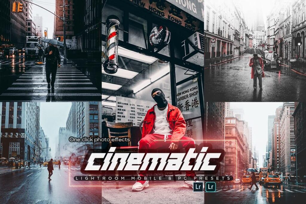 Cinematic Lightroom Presets4