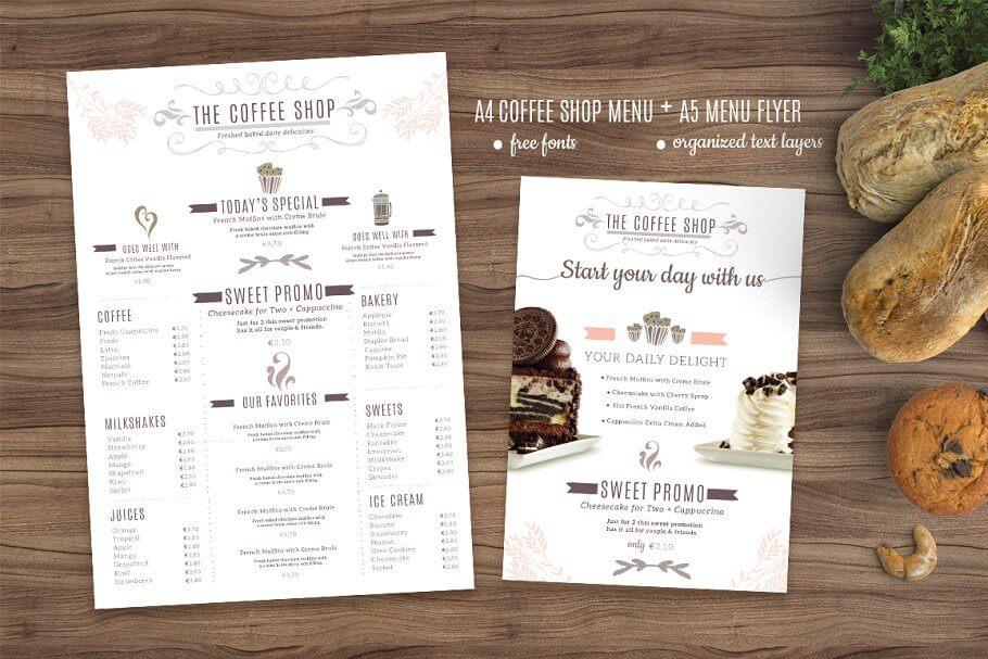 Coffee Menu and Coffee Flyer (1)