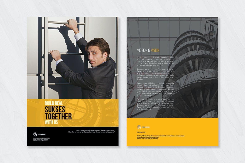 Corporate Bi Fold Brochure Template (1)
