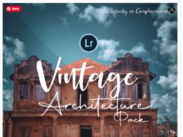 DYNAPIX Vintage Architecture Lightroom Mobile and Desktop Preset Pack
