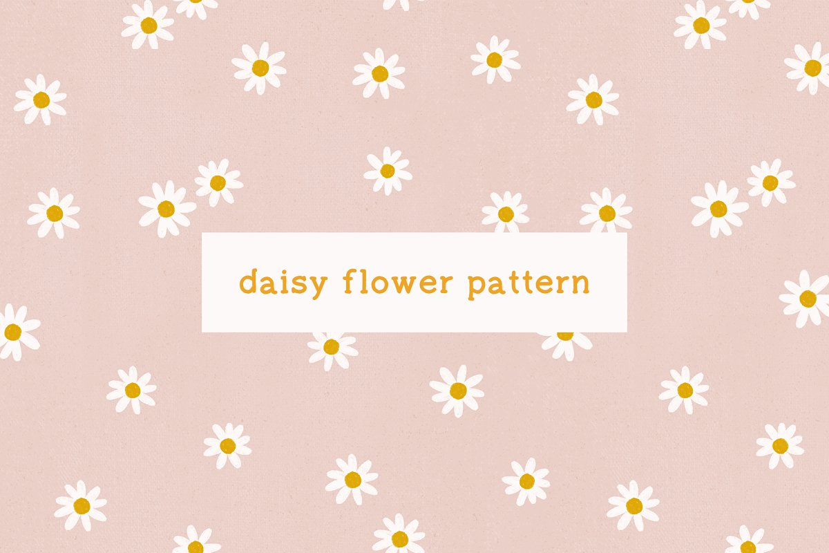 Daisy - Floral Seamless Pattern (1)