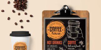 FREE! Trifold + Coffee Chalkboard (1)