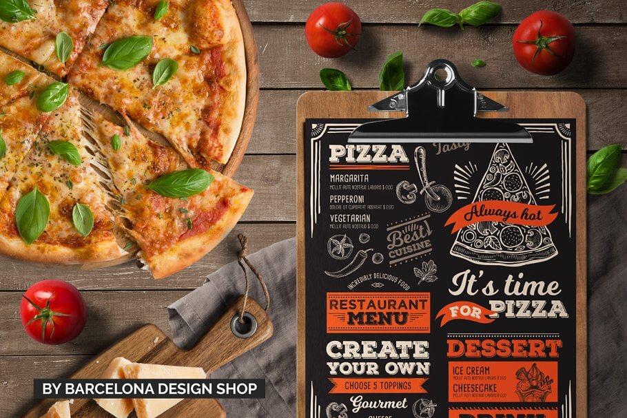 FREE! Trifold + Pizza Food Menu (1) (1)
