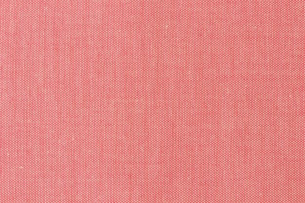 Fabric red texture background Premium Photo