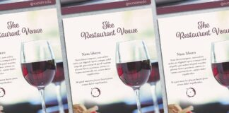 Fancy Restaurant Flyer Mockup (1)